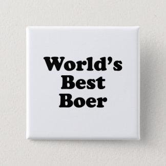 World's Best Boer Pinback Button
