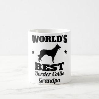 Worlds Best Border Collie Grandpa Coffee Mug