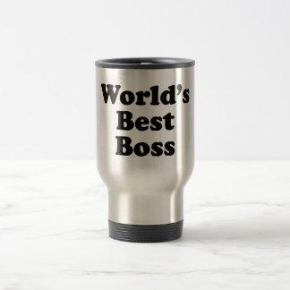 World's Best Boss 15 Oz Stainless Steel Travel Mug