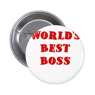 Worlds Best Boss Pin