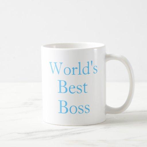 Worlds Best Boss Coffee Mugs