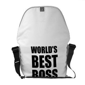 Worlds Best Boss Courier Bag