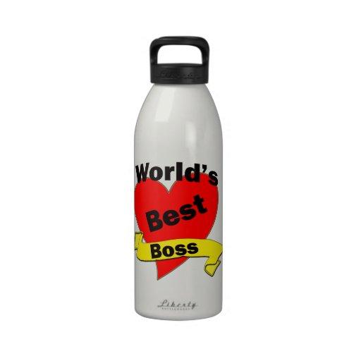 World's Best Boss Drinking Bottles
