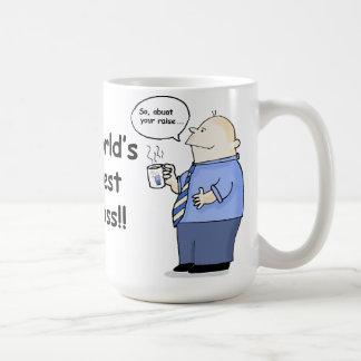 World's Best Boss funny mug