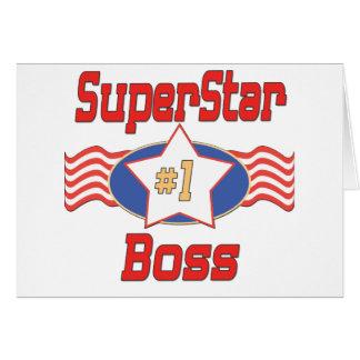 World's Best Boss Gifts Card