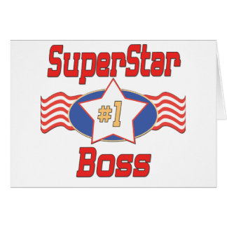 World's Best Boss Gifts Greeting Cards