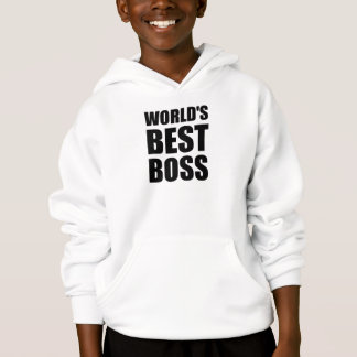 Worlds Best Boss Hoodie
