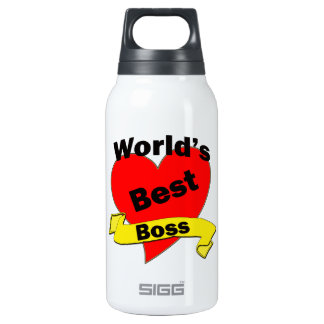 World's Best Boss Insulated Water Bottle