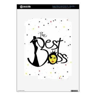 World's Best Boss lady iPad 3 Decals