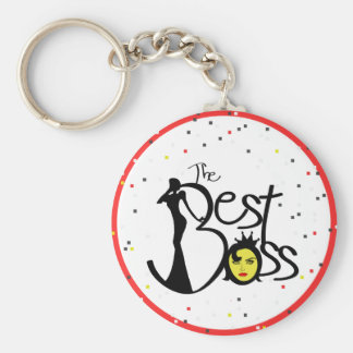 World's Best Boss lady Keychain