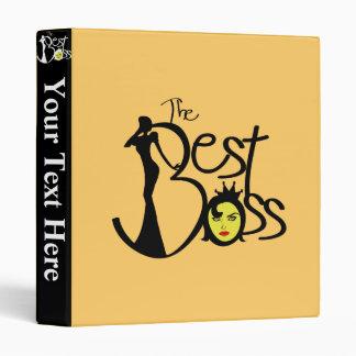 World's Best Boss lady trendy binders