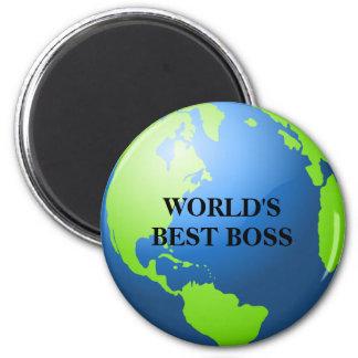 World's Best Boss Fridge Magnet