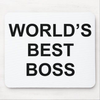 World's Best Boss Mouse Pad