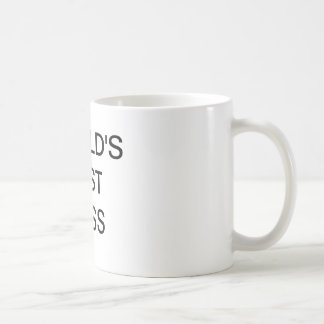 World's Best Boss Mug