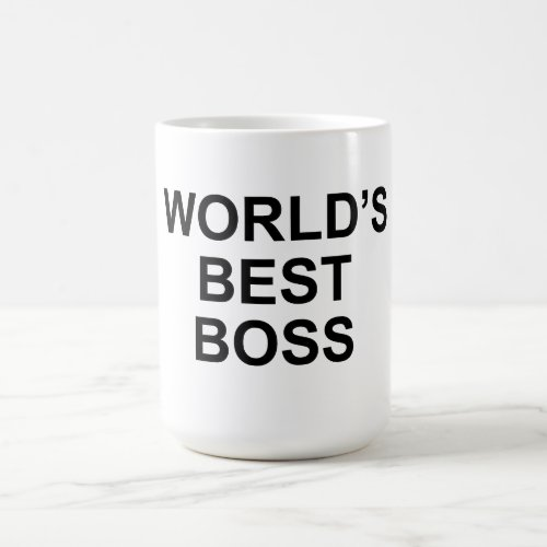 Worlds Best Boss Mug