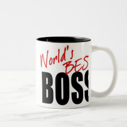 WORLD'S BEST BOSS - mug