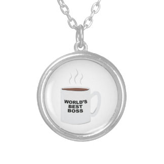 Worlds Best Boss Personalized Necklace