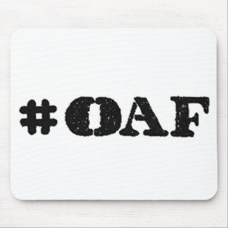 World's Best Boss Oaf Mousepad