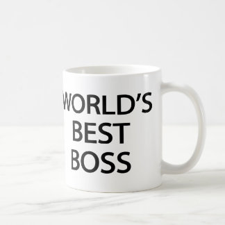 World's Best Boss Office Mug