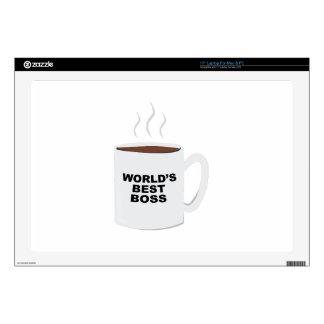 """Worlds Best Boss 17"""" Laptop Skin"""