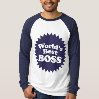 World's Best Boss T-Shirt