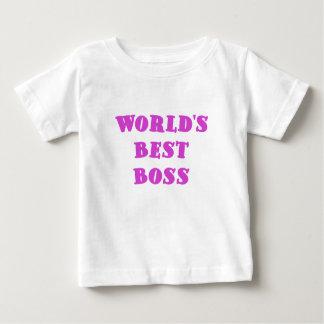 Worlds Best Boss T Shirt