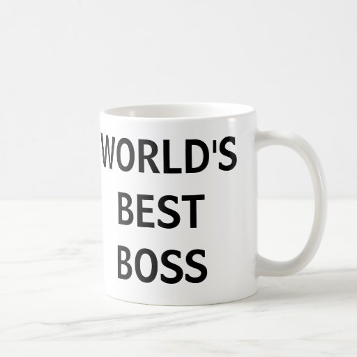 WORLD'S BEST BOSS - The Office Mug