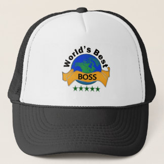 World's Best Boss Trucker Hat