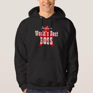 World's Best BOSS with Star V04 BLACK Sweatshirt
