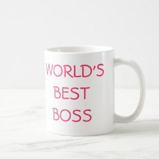 WORLD'S BEST BOSS, YOU'RE THE COFFEE MUG