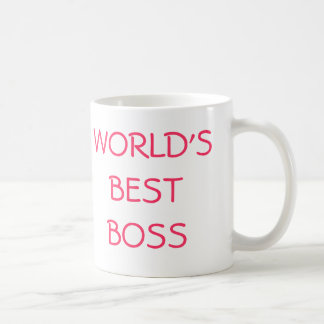 WORLD'S BEST BOSS, YOU'RE THE COFFEE MUGS