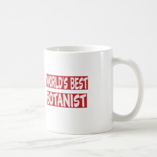 World's Best Botanist. Coffee Mugs