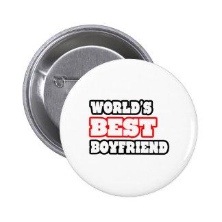 World's Best Boyfriend 2 Inch Round Button