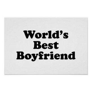 World's Best Boyfriend Poster
