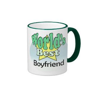 World's best Boyfriend Ringer Mug
