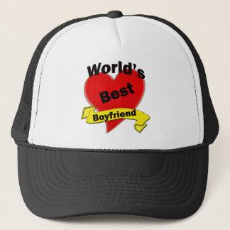 World's Best Boyfriend Trucker Hat
