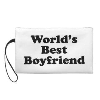 World's Best Boyfriend Wristlet
