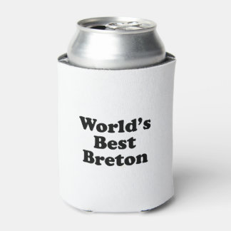 World's Best Breton Can Cooler