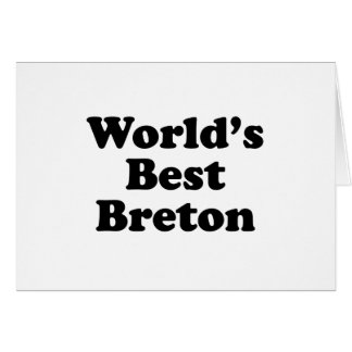 World's Best Breton Card