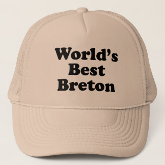 World's Best Breton Trucker Hat