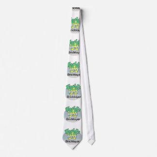 World's best Bricklayer Neck Tie