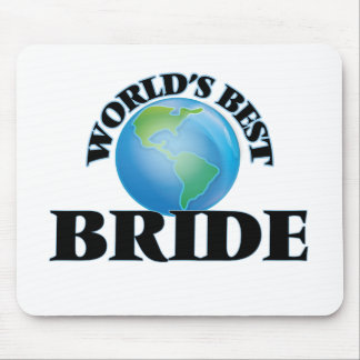 World's Best Bride Mouse Pads