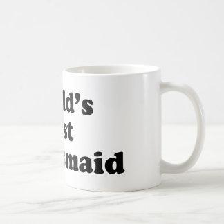 World's Best Bridesmaid Classic White Coffee Mug
