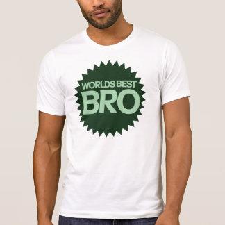 Worlds Best Bro Tee Shirt