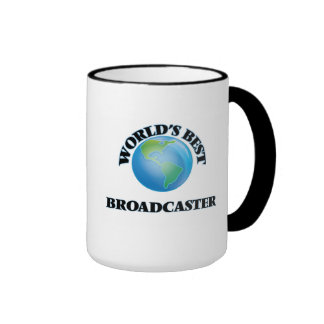 World's Best Broadcaster Coffee Mug
