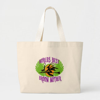 World's Best Broom Mother Canvas Bags
