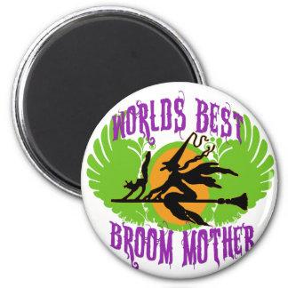 World's Best Broom Mother Magnet