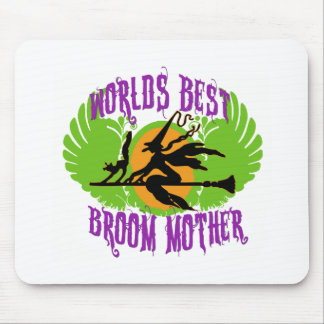 World's Best Broom Mother Mouse Pad