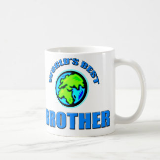 World's Best Brother Classic White Coffee Mug