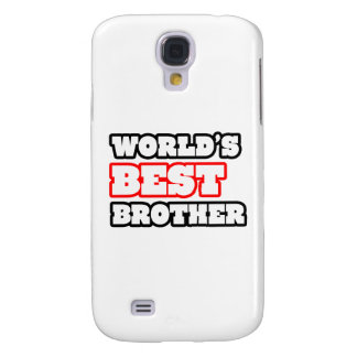 World's Best Brother Galaxy S4 Cover